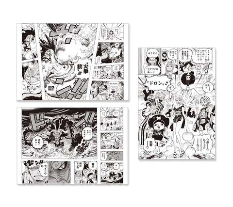 "ONE PIECE BEST SCENE SELECTION POST CARD ""WA NO KUNI 2"" (3 pcs)"