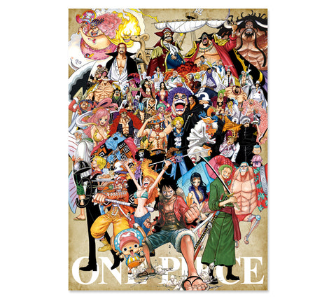[JUMP EXCLUSIF] ONE PIECE ART POSTER