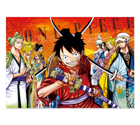 [JUMP EXCLUSIF] ONE PIECE WANO POSTER