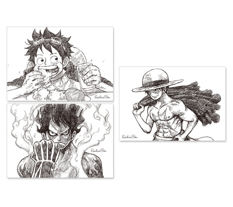 [JUMP EXCLUSIF] ONE PIECE Magazine Illustration Cards (3pcs)