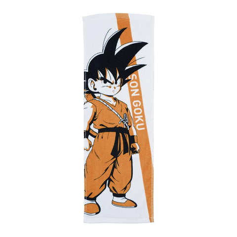 DRAGON BALL SUPER Figure Ichiban-kuji Warriors protect the earth [H] ART TOWEL [GOKU]
