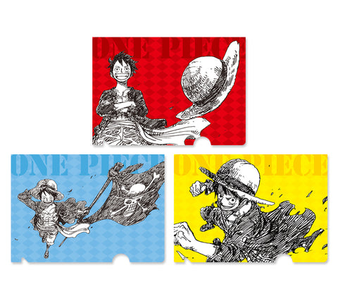 [JUMP EXCLUSIF] ONE PIECE magazine vol.1-3 CLEAR FILE SET