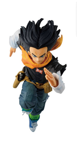 DRAGON BALL Z Figure BWFC Android No. 17 [A]