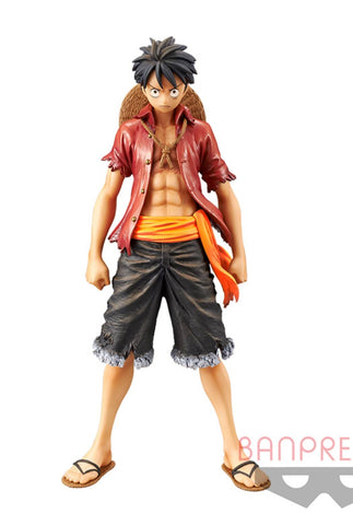 ONE PIECE FIGURE STAMPED DXF~THE GRANDLINE MEN~vol.6-LUFFY-