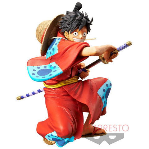 ONE PIECE Figure WANO KING OF ARTIST THE MONKEY. D. LUFFY