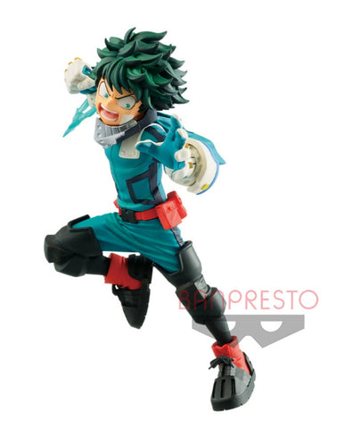 MY HERO ACADEMIA Figure THE MOVIE HEROES RISING VS VILAIN -DEKU-