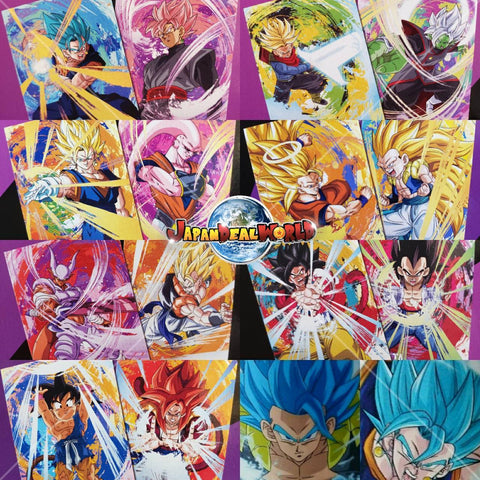 DRAGON BALL SUPER Ichiban-kuji AWAKENING WARRIORS (i.) CLEAR FILE FULL SET+SECRETE (15 Files)