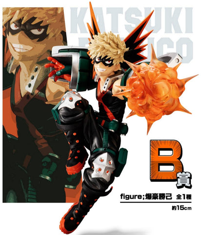 MY HERO ACADEMIA Figure Ichiban-kuji NEXT GENERATION feat. Smash Rising BAKUGO KATSUKI