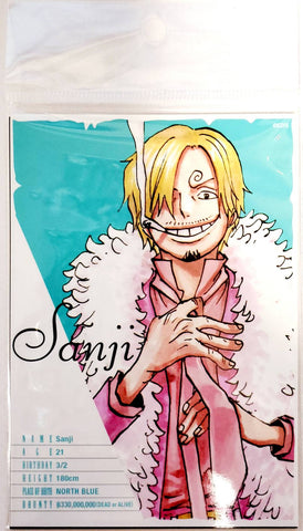 ONE PIECE BROMIDE CARD [SANJI] (3 Cards)