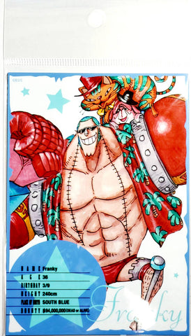 ONE PIECE BROMIDE CARD [FRANKY] (3 Cards)