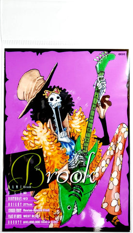 ONE PIECE BROMIDE CARD [BROOK] (3 Cards)