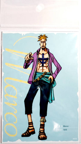 ONE PIECE BROMIDE CARD [MARCO] (3 Cards)