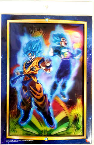 "DRAGON BALL SUPER THE MOVIE ""BROLY"" 3D ART COLLECTION (POSTER)"