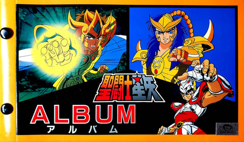 SAINT SEIYA STICKER ALBUM