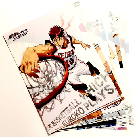 THE BASKETBALL WHICH KUROKO PLAYS CLEAR FILE FULL SET (9 Files)