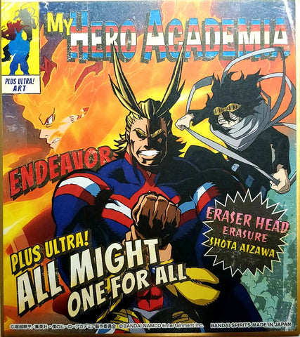 MY HERO ACADEMIA Ichiban-kuji -FIGHTING HEROES feat. One's Justice- (OJ Colab.) PLUS ULTRA! ART (Shikishi) [ALL MIGHT/SHOTA]