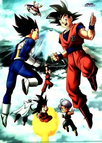 DRAGON BALL CLEAR FILE -Mt. FUJI-