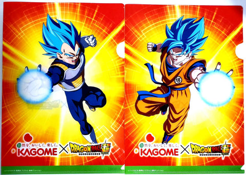DRAGON BALL X KAGOME COLLAB CLEAR FILE SET (2pcs)