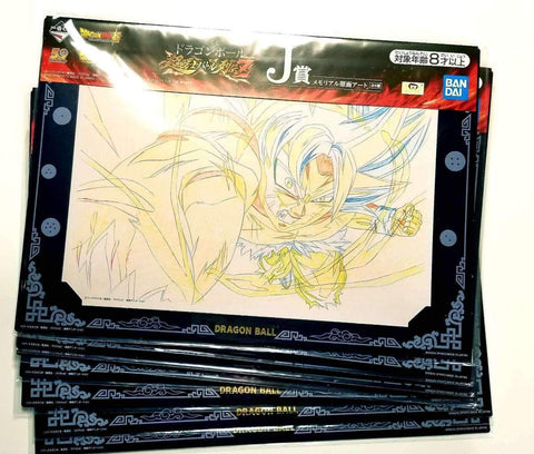 DRAGON BALL SUPER Ichiban-kuji (J) MEMORIAL ART OF ORIGINAL PICTURES Full Set (8 Pictures)