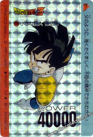 DRAGON BALL PP CARD 00550