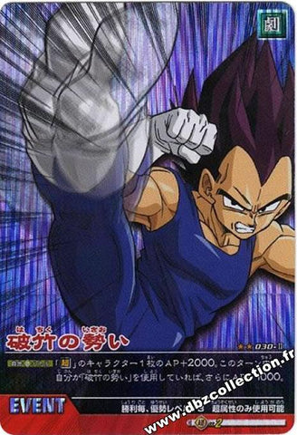 DRAGON BALL DATA CARDDASS 030-II