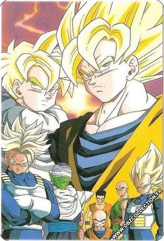 DRAGON BALL RAMI CARD B 1192