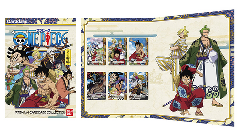 CARDDASS PREMIUM EDITION ONE PIECE WANO KUNI SET