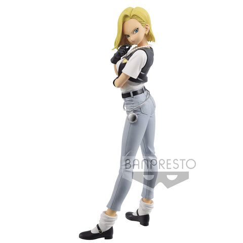 DRAGON BALL Figure GLITTER & GLAMOURS -ANDROID 18-III [B]
