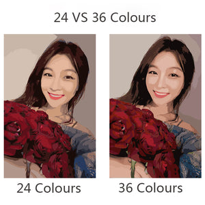 Custom Photo Diy Oil Painting Numbers