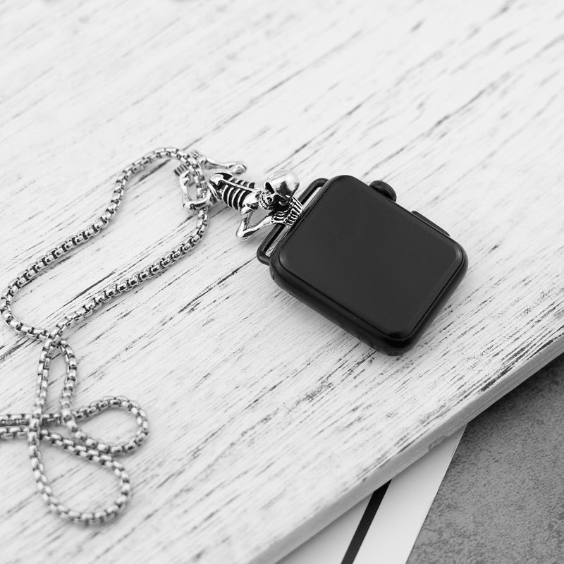 Skeleton Pendant Necklace for Apple watch