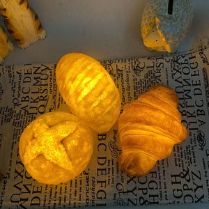 Real-Like Croissant Night Light