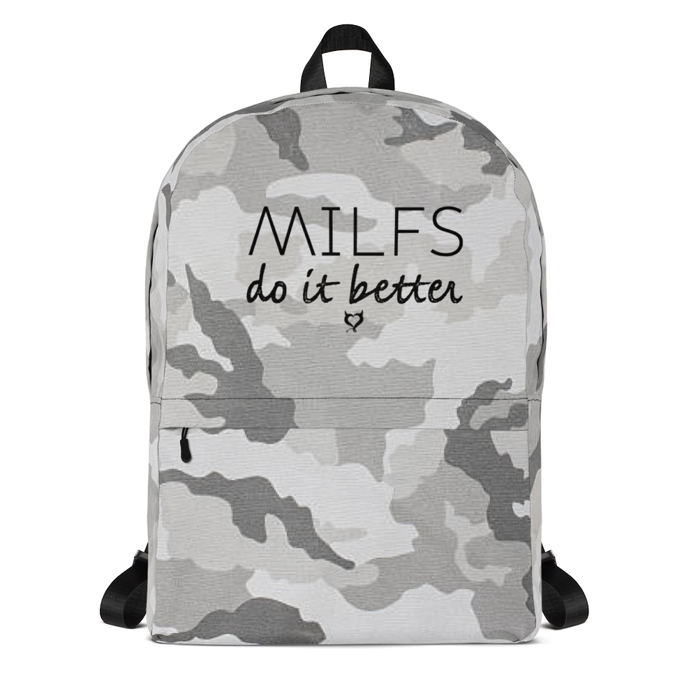 Gray Camo / MILFS Do It Better - Fetish Threads Backpack