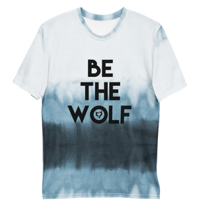 Be The Wolf - Fetish Threads Tie-Dye T-Shirt