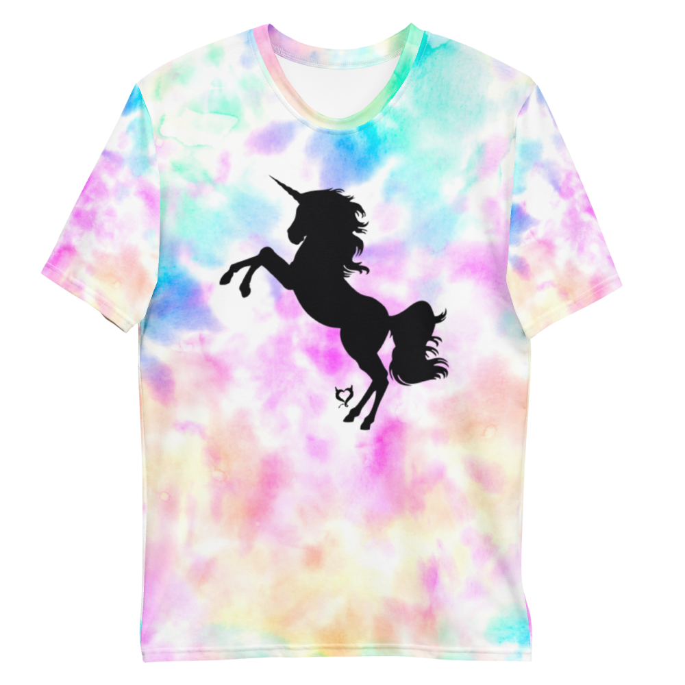 Living That Unicorn Life - Fetish Threads Tie-Dye T-Shirt