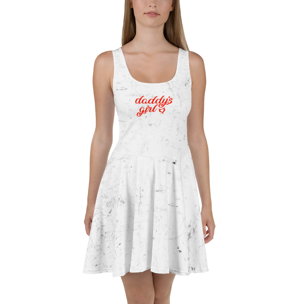 Daddy's Girl Grunge Print - Fetish Threads Skater Dress
