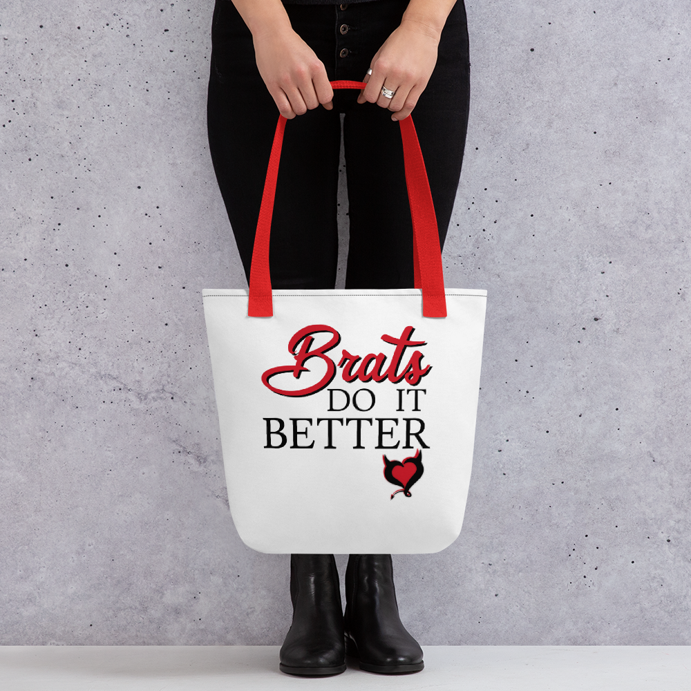 Brats Do It Better - Fetish Threads Tote Bag