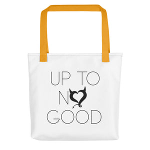 Up To No Good Tote Bag