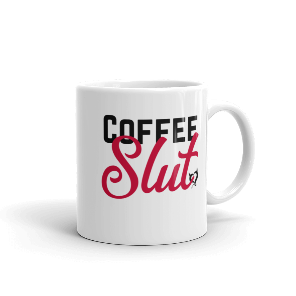 Coffee Slut - Fetish Threads Coffee Mug - Fetish Threads
