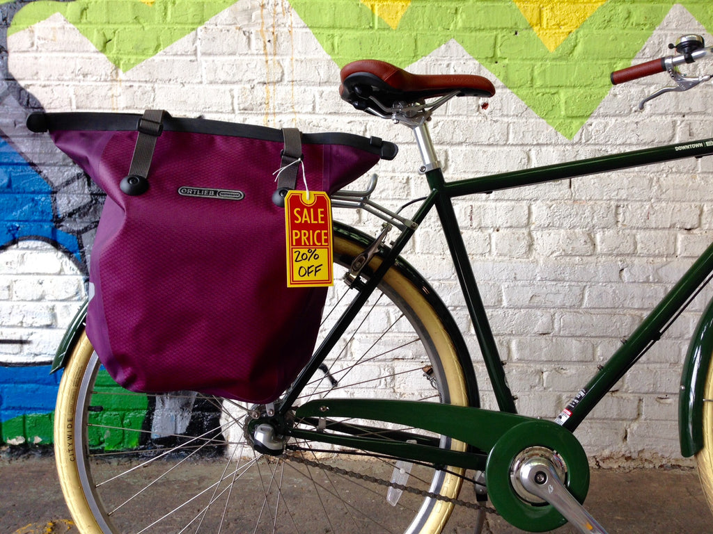 Sale on Selected Bags from Ortlieb, Racktime, and Basil
