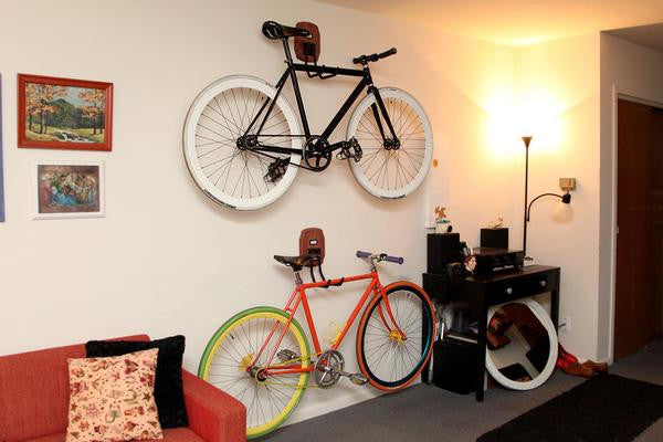 For Longer Lasting Bikes, Keep Them Indoors