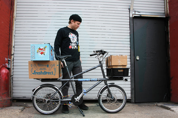 transport cycle cargo bike