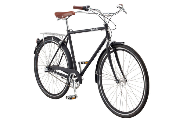 upright three speed bicycle
