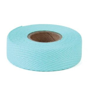 single roll of turquoise tape