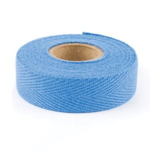 single roll medium blue tape