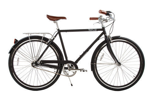 Pure City Bourbon 3sp, 54cm Black/Black