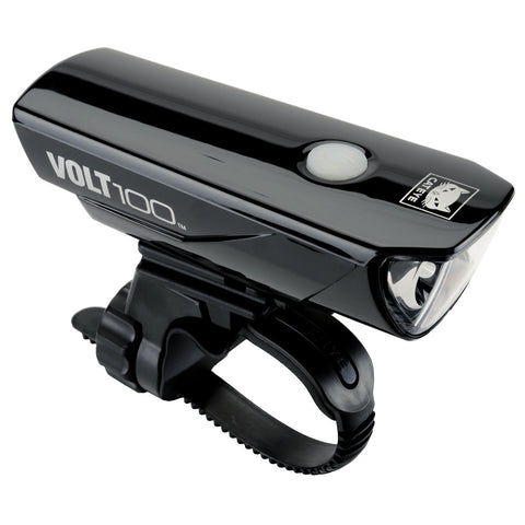 Cateye Volt 100 USB headlight - black