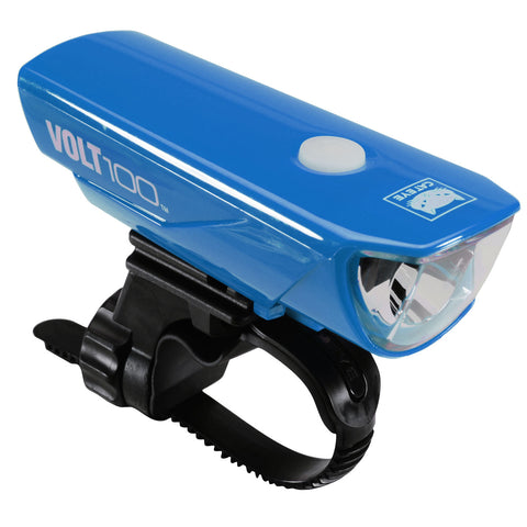 Cateye Volt 100 USB Headlight - Blue