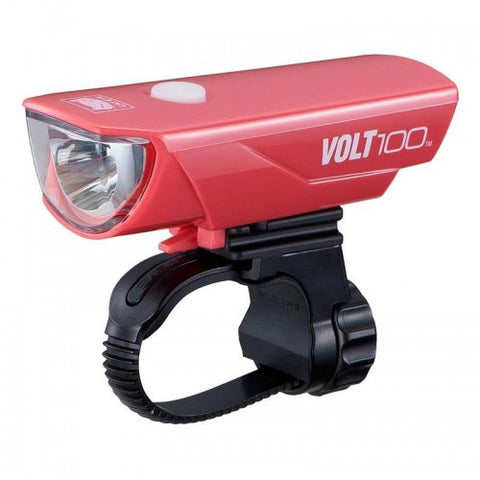 Cateye Volt 100 USB Headlight - Pink
