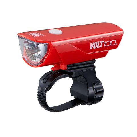 Cateye Volt 100 USB Headlight -  Red