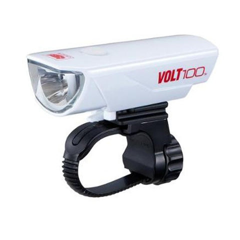 Cateye Volt 100 USB Headlight -  White